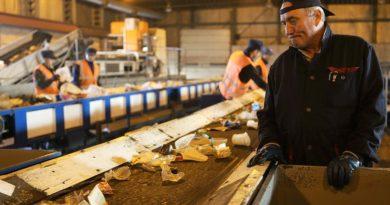 Предприятие по переработке разделенных отходов