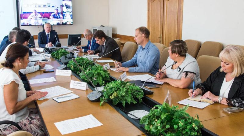 Национальный проект «Жилье и городская среда». Подведены предварительные итоги благоустройства городов и поселков области и намечены планы на будущее