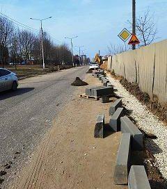 В Обнинске начался ремонт автомобильной дороги по улице Белкинской