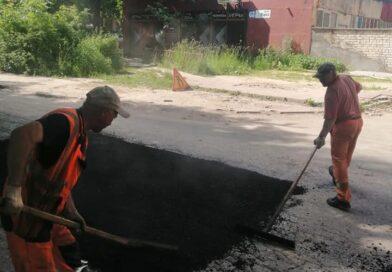Ремонт дорог в Обнинске отстаёт на целый месяц